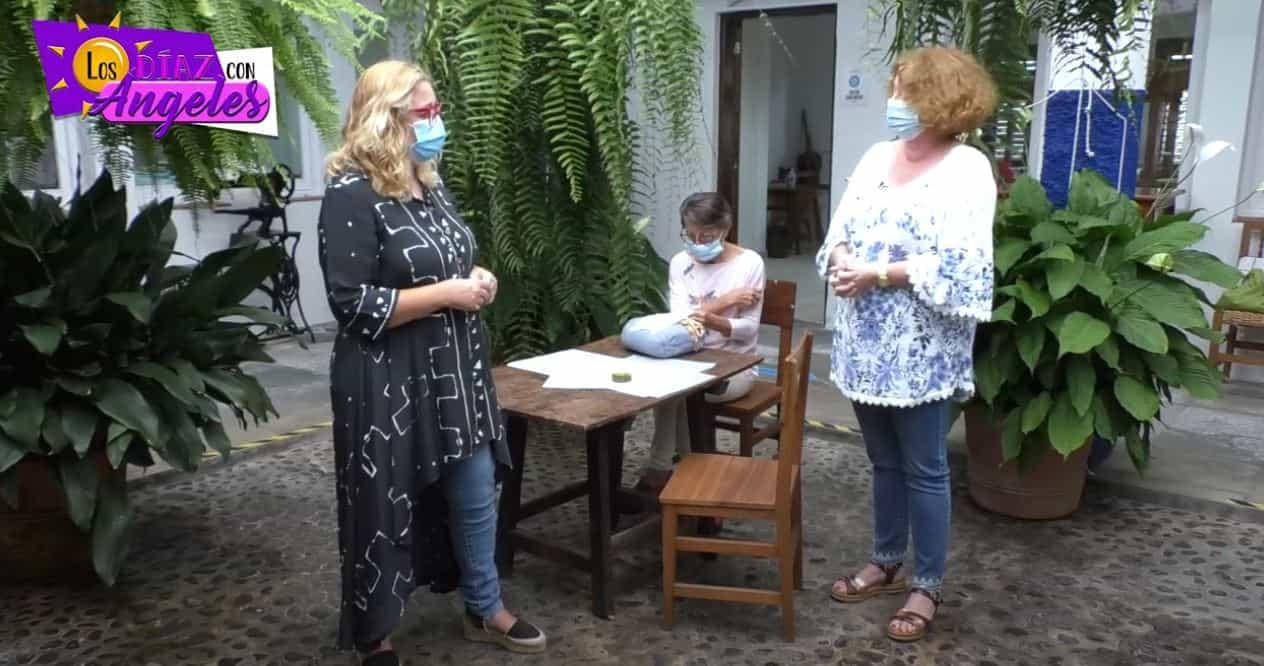 Los «Díaz» con Ángeles 281020 – La Palma Artesanía